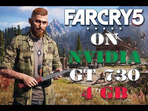 FAR CRY 5 on GT 730 (4GB) + 6GB Ram (EXCLUSIVE) |