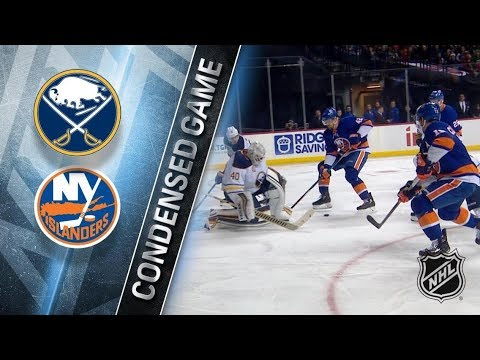 New York Islanders vs Buffalo Sabres – Dec. 27, 2017 | Game Highlights | NHL 2017/18. Обзор матча