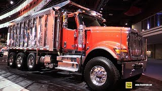 2018 International HX 520 Dump Truck - Walkaround - 2017 NACV Show Atlanta