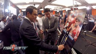 JUAN MANUEL MARQUEZ'S EPIC MAYWEATHER VS PACQUIAO CHART BREAKDOWN VIDEO