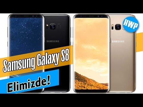 Samsung Galaxy S8 Elimizde