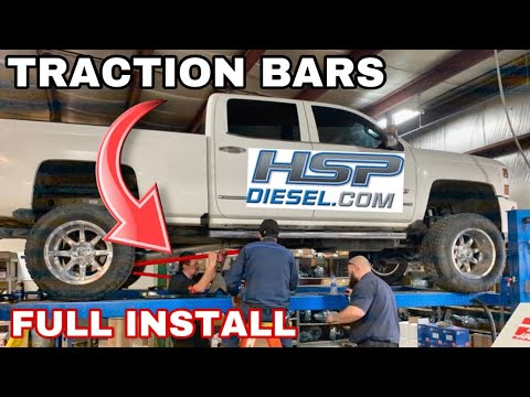 How To Install Duramax 11 19 Hsp Diesel Traction Bars Youtube