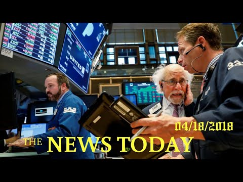 Energy, Industrial Stocks Lift Wall Street, IBM Drags | News Today | 04/18/2018 | Donald Trump