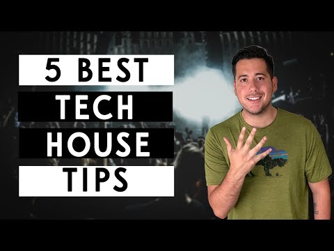 5 Tips For Tech-House Producers