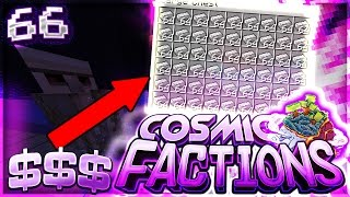 CRAZY $5,000,000 PER HOUR FARM!! | Minecraft FACTIONS #66 (CosmicPvP)