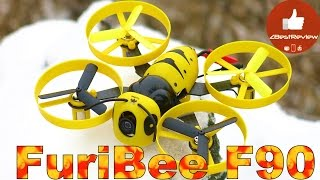 ✔ Полет Зимней Пчелы - FuriBee F90. Gearbest 78.86$!