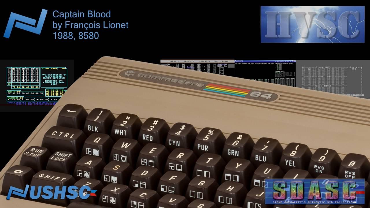 Captain blood fran ois lionet 1988 c64 chiptune
