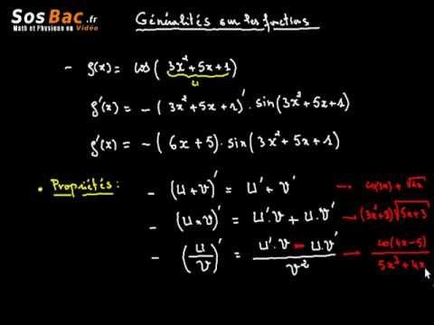 Généralités sur les fonctions cours 5 : 2 BAC International