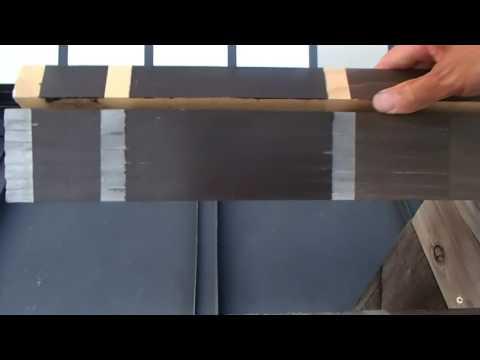 木材保護塗料/WP 屋外暴露試験 約2年経過 杉Ver