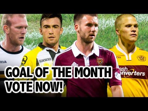 Goal Of The Month - December - Vote Now!