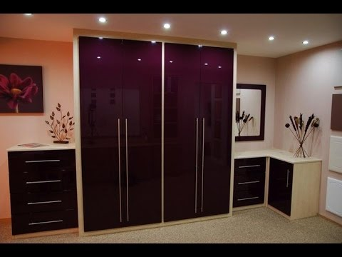 HIGH GLOSS WARDROBE INCLUDING DRESSING TABLE