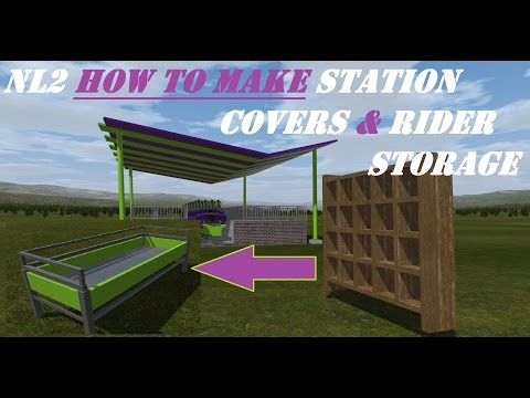 No Limits 2- How to make Station Covers & Rider Storage!