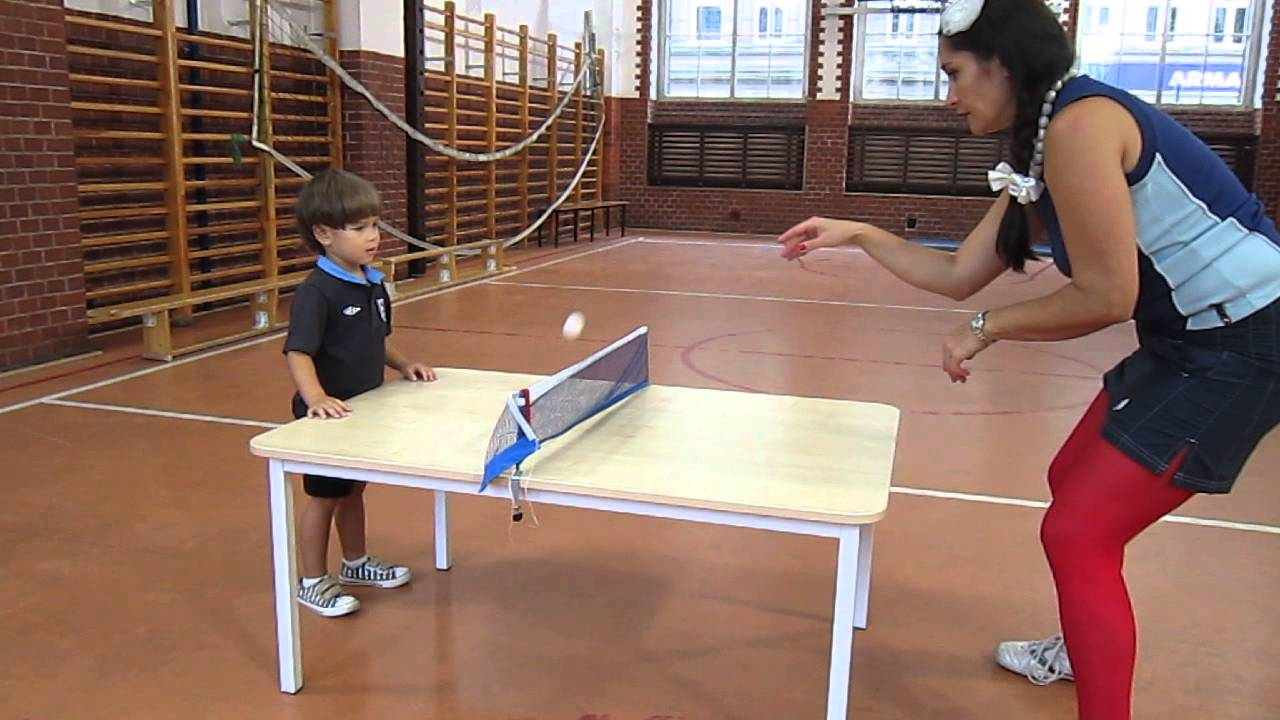 Beau Table Tennis Method For Young Children 3 6  Training Both Hands   Catch The  Ball