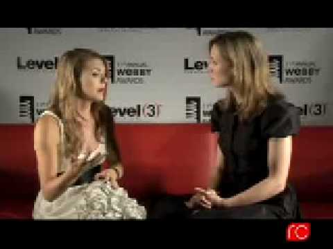 cheap price top brands differently Jessica Lee Rose (Bree) - Lonelygirl15 Webby Red Couch Interview 2007