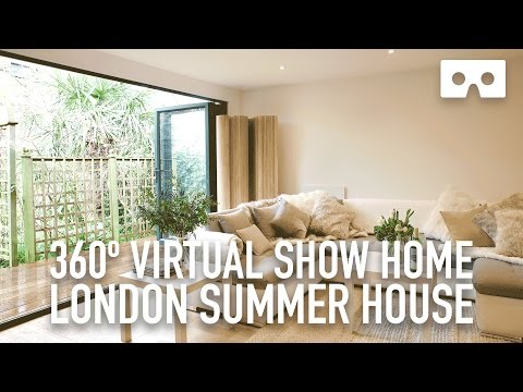 360º Virtual Reality House Tour - London Summer Home - demo VR 360 video