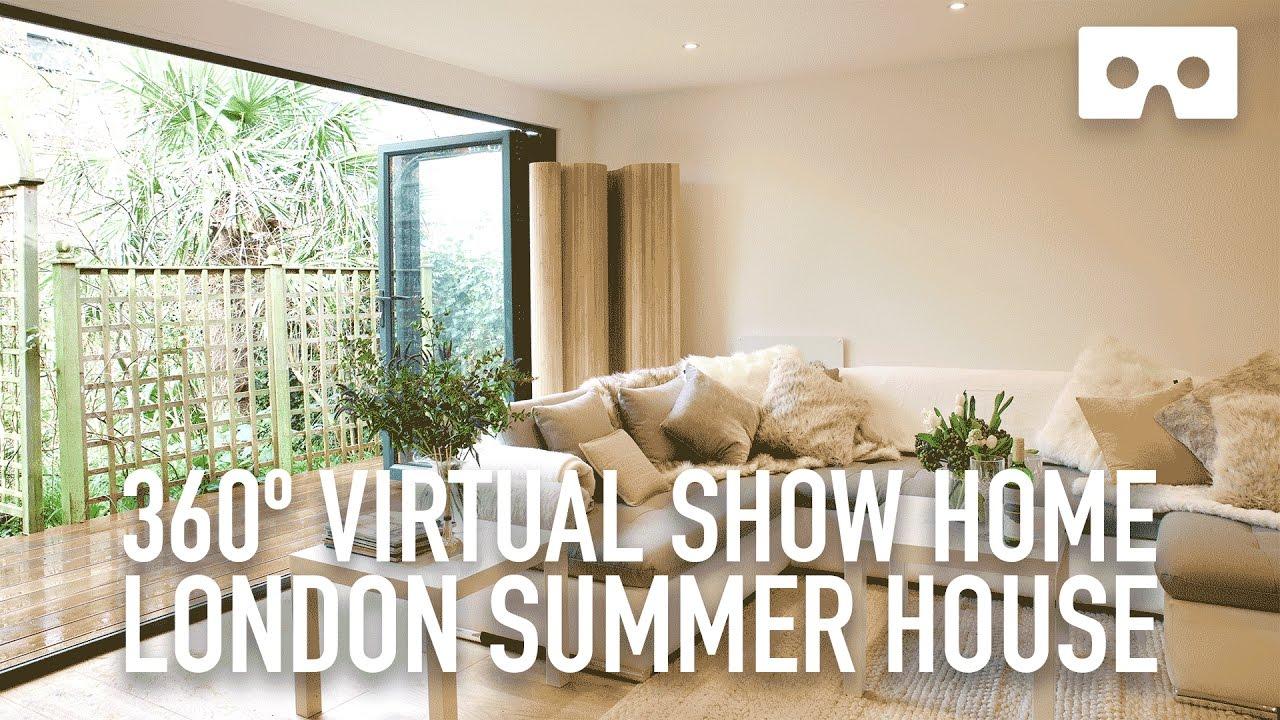 f8e46052bb1 360º Virtual Reality House Tour - London Summer Home - demo VR 360 video