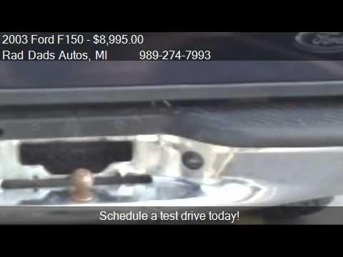 2003 Ford F150 | XLT | SuperCrew | 4WD | Rad Dads Autos | Saginaw | Michigan