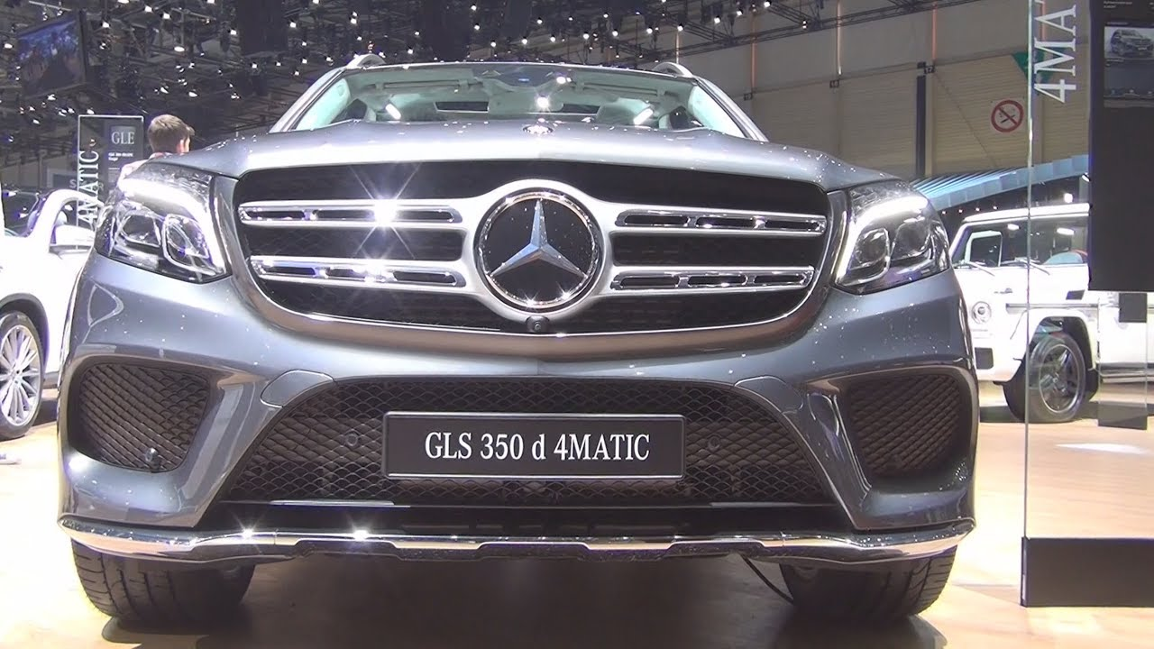 Mercedes Benz Gls 350 D 4matic Suv 2017 Exterior And Interior