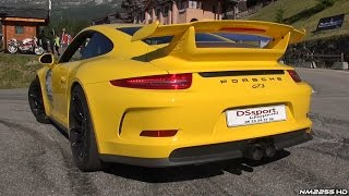 Porsche 991 GT3 with iPE Innotech Exhaust Launch Control & Accelerations!!