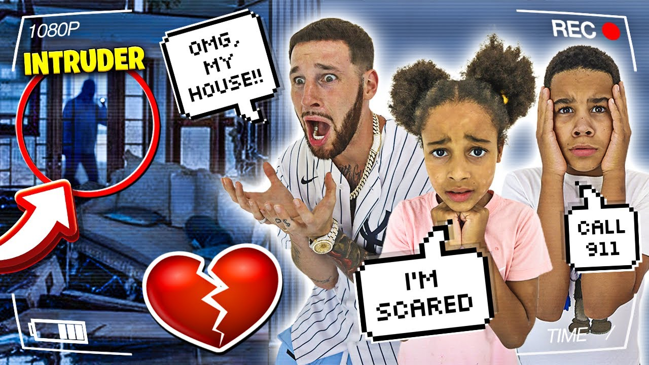 Download Intruder BROKE IN and DESTROYED our NEW HOUSE **Police Called** | FamousTubeFamily