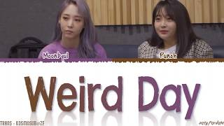MAMAMOO Moonbyul WEIRD DAY ft PUNCH Lyrics