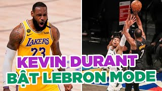 Kevin Durant: Đã đến lúc sắm vai LeBron James