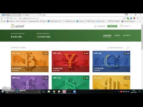 Convertire Bitcoin In Euro . Come Prelevare I Bitcoin. Tutorial Uphold Italiano . Bitcoin Ita