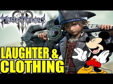 Kingdom Hearts 3 News: More Laughter & World Clothing