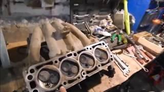 Почему часто прогорает клапан? Lanos/Aveo 1.5 8V. (Видео для рассуждения)