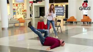Pricking a Blind Person  ULTIMATE PRANK JUST FOR LAUGH GAGS 2018 NEW