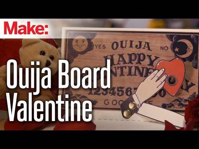 Ouija Be Mine Build This Animated Valentines Day Card Boing