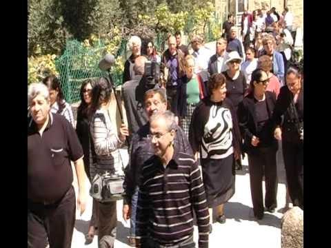 Armenian Genocide Day In Jerusalem, April 24 2011