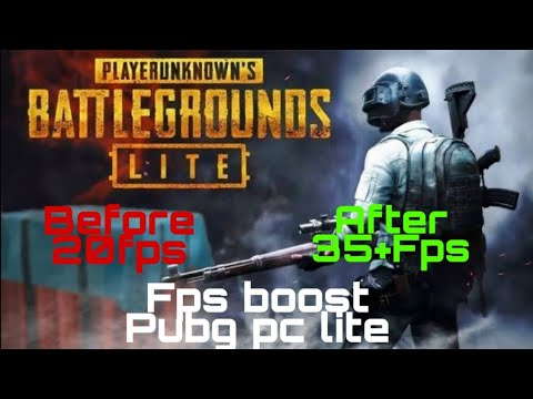 Get more 15fps Pubg pc lite Fps boost For low end pc No lag