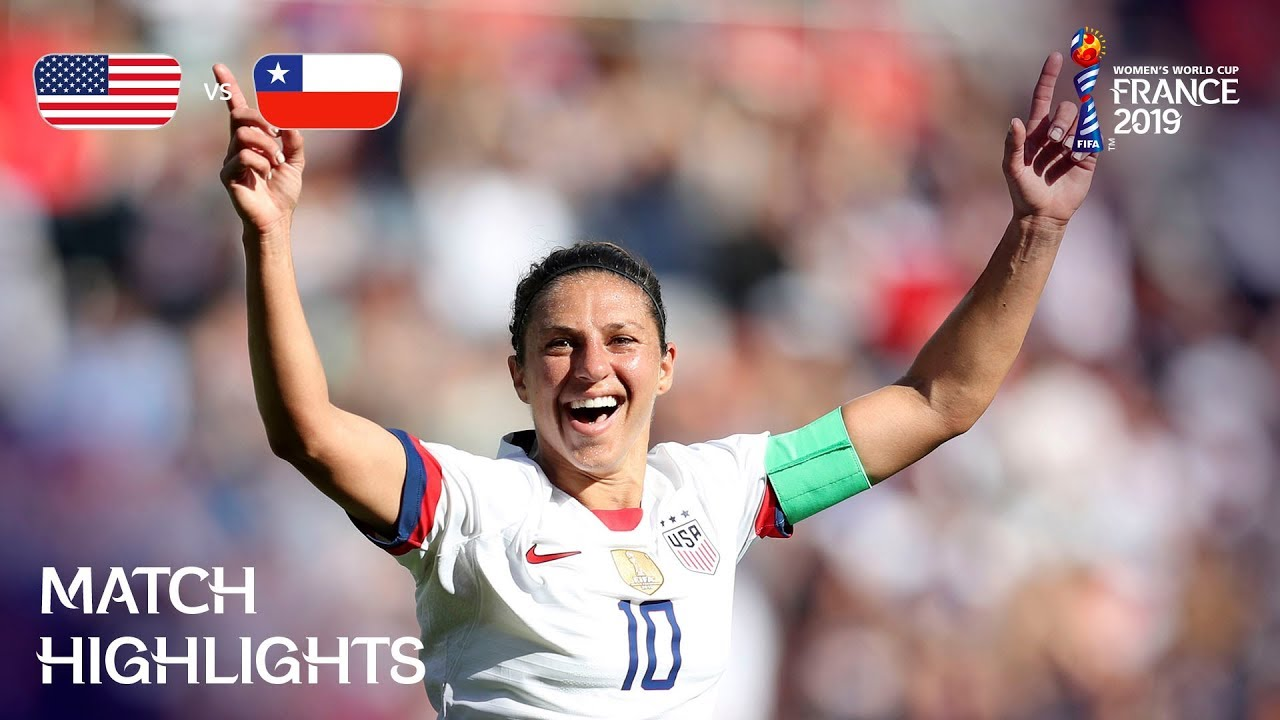 USA v Chile - FIFA Women's World Cup France 2019™