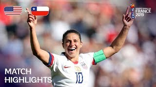 Download USA v Chile - FIFA Women's World Cup France 2019™ Mp3 and Videos