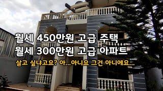 🇪🇹 어서와 450만원 월세집은 처음이지? 에티오피아 고급 주택 보고가요.. 300만원 짜리도 있음