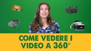 Come vedere i video a 360 gradi