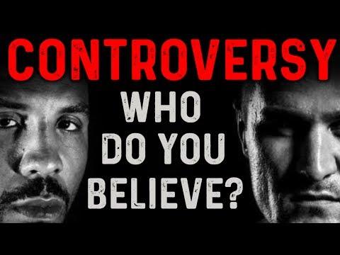 Andre Ward vs Sergey Kovalev CONTROVERSY - WHO DO YOU BELIEVE???