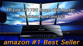 TP-Link AC1750 Smart WiFi Router - (REVIEW and SETUP)