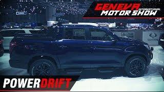 Ssangyong Musso - Rexton based pickup : Geneva Motor Show 2018 : PowerDrift