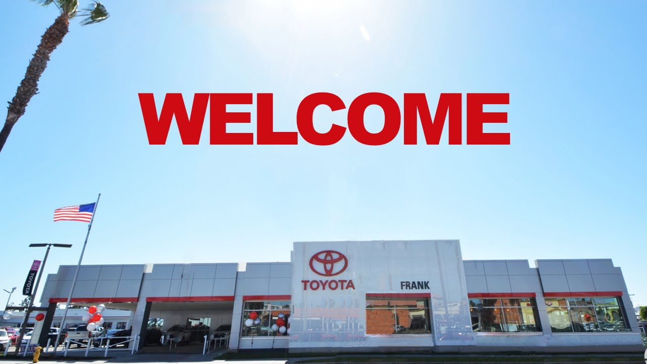San Diego Toyota Dealers >> Toyota Dealership Serving The San Diego Area Chula Vista Bonita