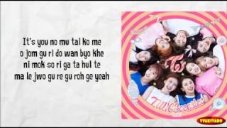 Download Video TWICE - 1 TO 10 Lyrics (easy lyrics) MP3 3GP MP4