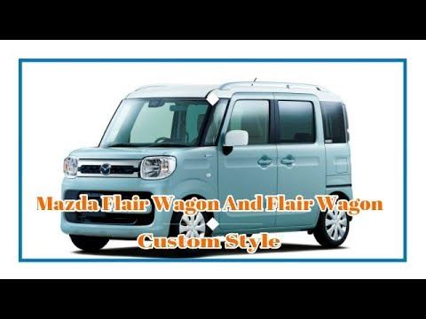 "Mazda Flair Wagon And Flair Wagon Custom Style ""Exterior & Interior"""