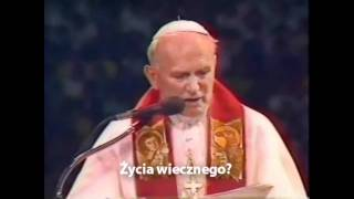 Jan Paweł II do młodzieży