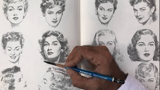 How to Hold the Pencil for Drawing