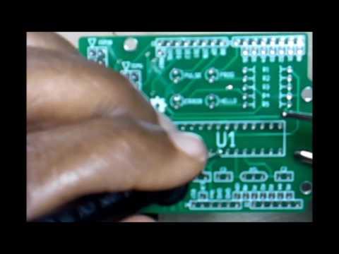 MultiMeter Tracing Circuit Board Part 1