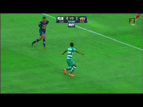 Resumen | Santos 5 - 2 Pumas | Clausura 2019 - Jornada 17 | LIGA Bancomer MX