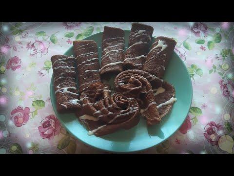 ☆°•.Шоколадный блинчик! Шоколадные блинчики,  очень вкусные!.•°☆