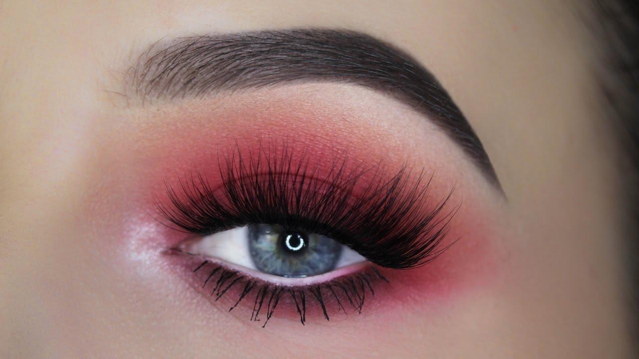 Red Smokey Eye Tutorial Youtube