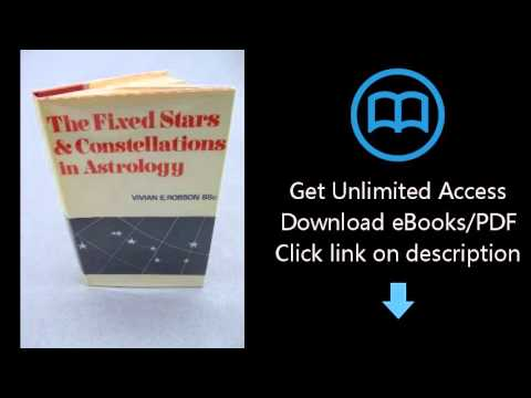 fixed stars and constellations in astrology pdf
